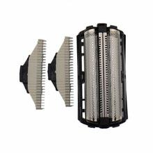 理髪フィリップス対応のQS6160 QS6140 カッターヘッド + ナイフメッシュ本物accessorie送料無料