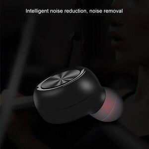 Image 4 - Kebidu auriculares inalámbricos por Bluetooth, Mini auriculares invisibles, auriculares de negocios con cancelación de ruido y micrófono para teléfono Android