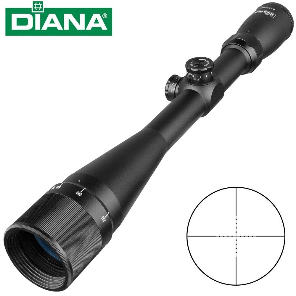 Tactique DIANA 4-16X42 AO lunette de visée Mil point réticule optique vue chasse portée de fusil