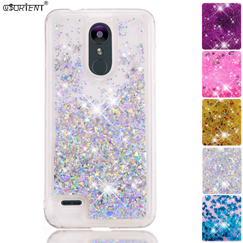 Phone Bags & Cases Radient Bling Glitter Cover Lg K9 Dynamic Liquid Quicksand Bumper Case Lmx210nmw Lmx210bm X210fm Soft Silicone Fitted Phone Case Fundas Complete In Specifications Half-wrapped Case