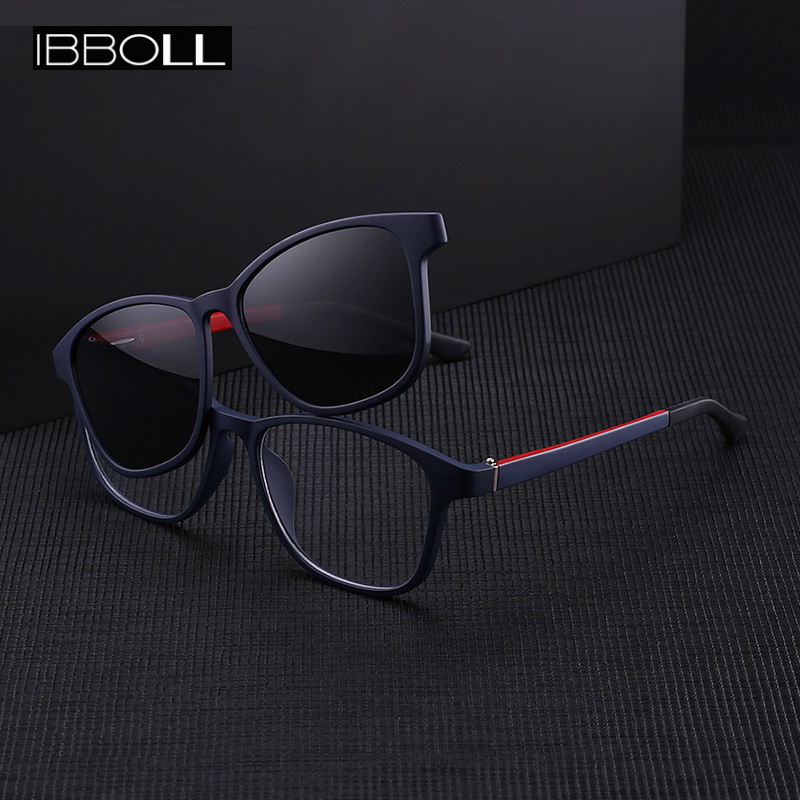 Ibboll Fashion Women Clip-on Polarized Sunglasses 2018 Luxury Brand Designer Sun Glasses For Men Classic Oculos Unisex 7006