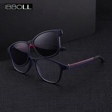 купить ibboll Fashion Women Clip-on Polarized Sunglasses 2018 Luxury Brand Designer Sun Glasses for Men Classic Oculos Unisex 7006 по цене 748.71 рублей