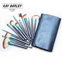 KAY GARLEY High Quality Makeup Brushes 22pcs Makeup Brushes Set Professional Soft Hair Powder Eyeshadow Makeup