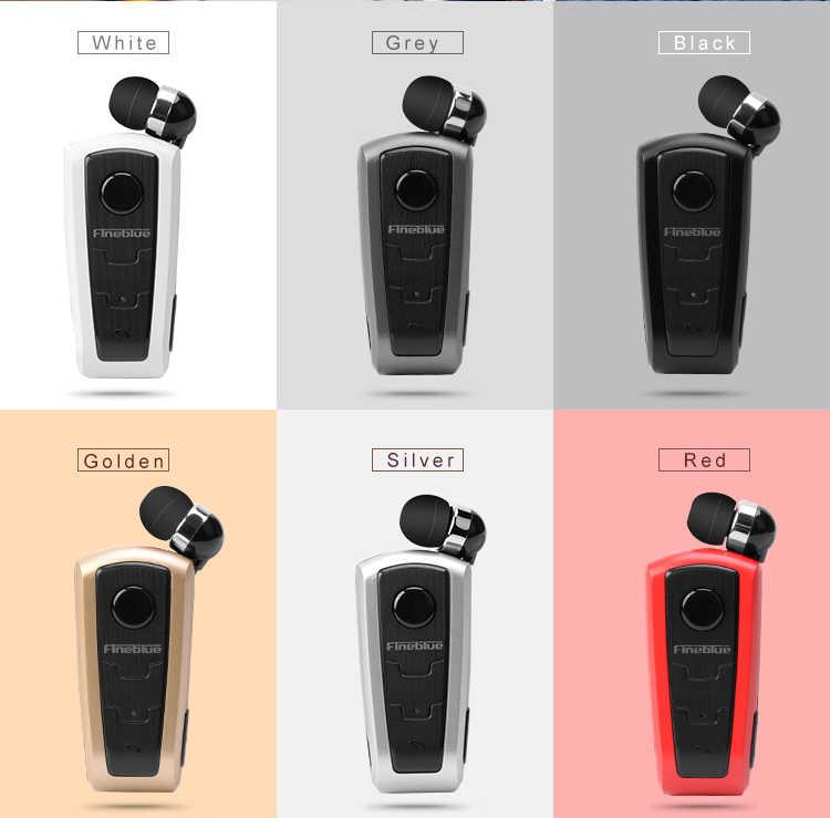 FineBlue F910 Bluetooth наушники Беспроводные спортивные наушники-вкладыши Вибрационный сигнал износа клип наушники звонки напоминание с микрофоном для телефона