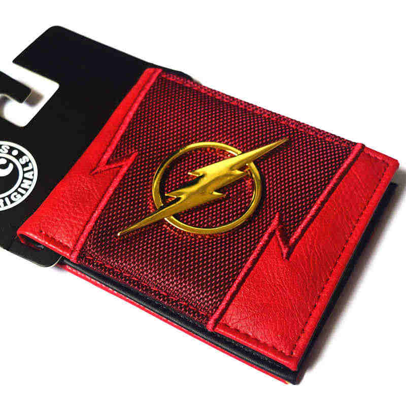 PVC cartoon wallet Superman Deadpool US captain variety of men and women short wallet