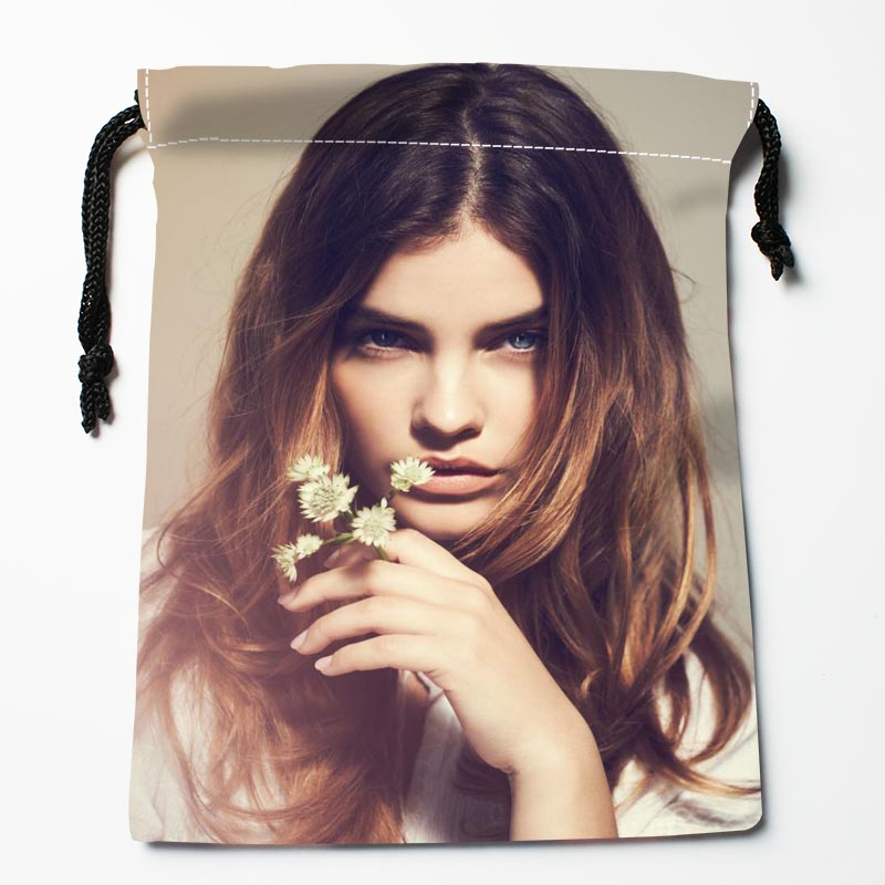 New Custom Barbara Palvin Drawstring Bags Custom Storage Bags Storage Printed Gift Bags Compression Type Bags