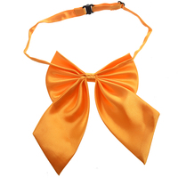2017 NEW Yellow Women Adjustable Pure Color Women's Bow Tie