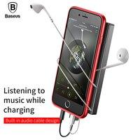 Baseus Audio Case For IPhone 8 8 Plus Creative 2 Lighting Interfaces Audio Phone Case For