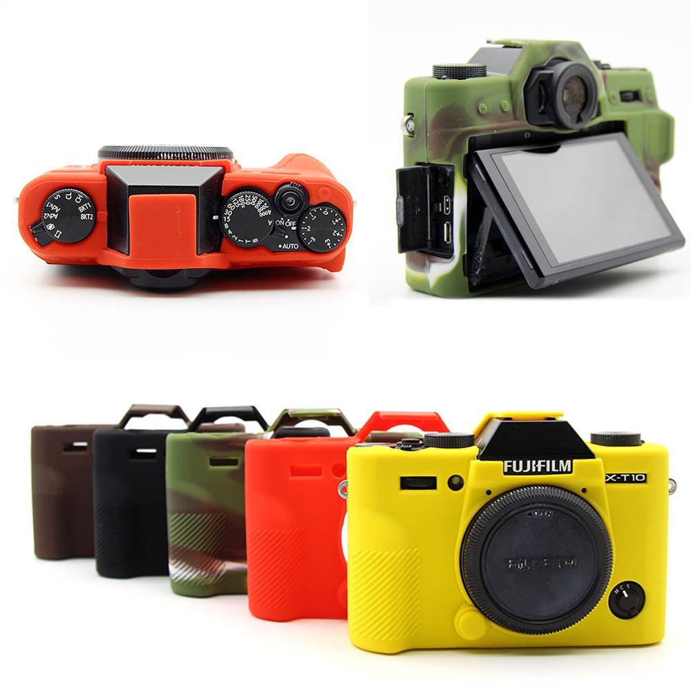 Soft Silicone TPU Skin Body Rubber Camera Case Bag Full Cover for Fujifilm Fuji X-T30 XT30 Digital Camera ONLY