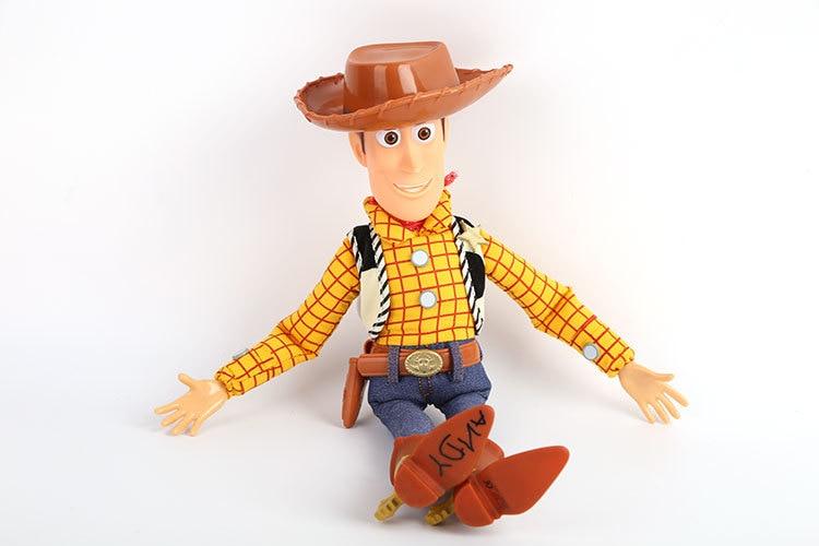 43 см История игрушек 3 говорящая древесная игрушка фигурки модель игрушки Детский Рождественский подарок - Цвет: no retail box