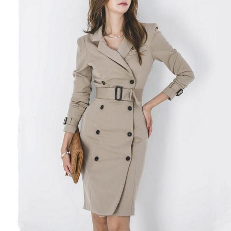 Dress Suits Women Long Blazer