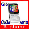 G16 Original Unlocked HTC ChaCha A810 Cell phone 3G GPS WIFI 5MP Qwerty Keyboard Free Shipping