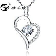 888cf5bd4e16 Estilo caliente collar s925 joyería de plata pura Micro hueco corazón  colgante taladro determinado fabricante fuente