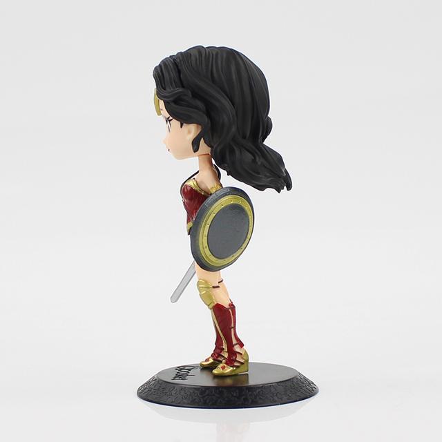 Justice League Wonder Woman Diana Prince cute action figure 15cm