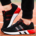 Men Casual Shoes Lace Up Breathable Mesh Sport Walking Shoes Male Superstar Trainers Jogging Basket Zapatillas Homme Red Leisure