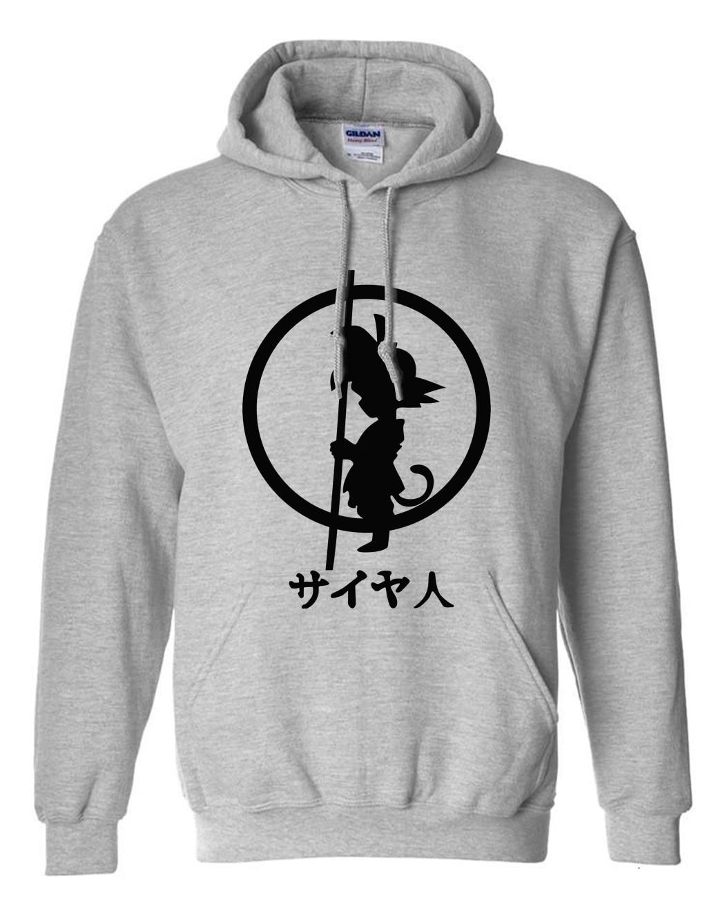 Dragon Ball kid goku with poll hoodie