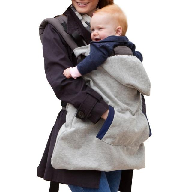 100% Algodón Otoño Invierno Baby Carrier Cubierta Sirena Multifunción Caliente A Prueba de Viento Espesar Velvet Bebé Swaddle Manta Recién Nacido