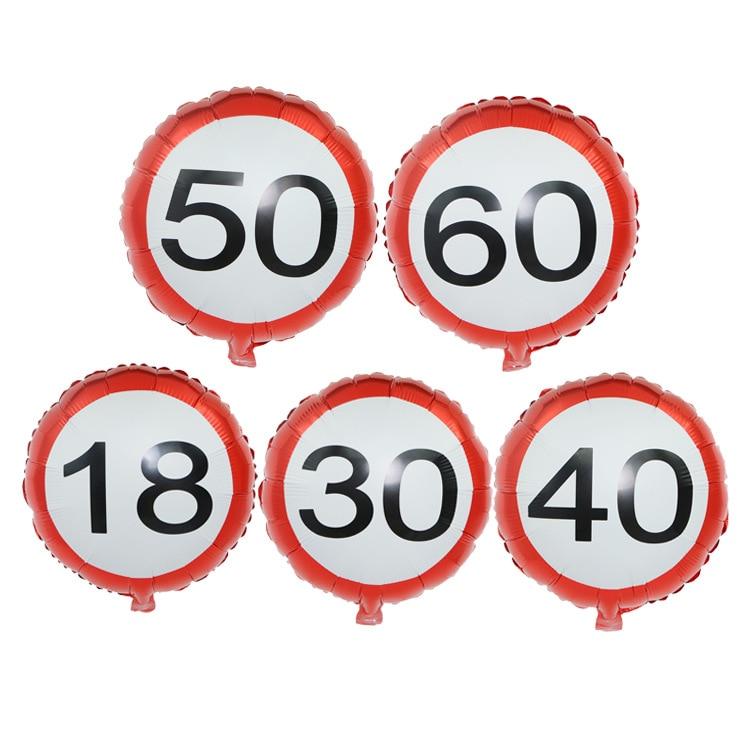 Новый Дизайн 18/30/40/50/60 цифры, фольгированные шары, цифры, гелиевые шары, свадебные украшения, товары для дня рождения