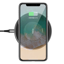 Benks wireless charger sfor Samsung Galaxy S9 Plus qi wireless charging for Samsung Galaxy S9 sFor iphone x 8 For lg g6