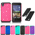 Case For HTC 626 Hybrid Slim Armor diamond rugged Bling case 2 in 1 PC+Silicon back cover case For HTC 626 Drop Shipping