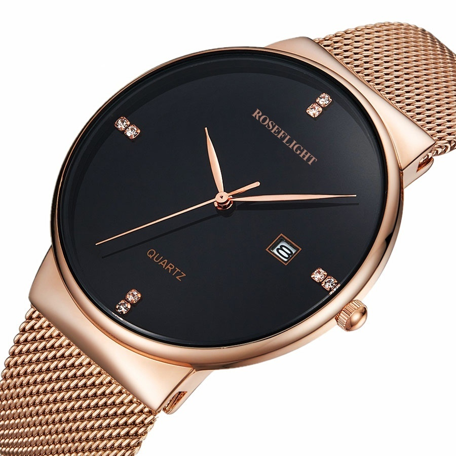 2018 Top Brand ROSEFLIGHT Fashion Women Watches Luxury Brand Casual Ladies Quartz Clock  high stainless steel Wristwatches2018 Top Brand ROSEFLIGHT Fashion Women Watches Luxury Brand Casual Ladies Quartz Clock  high stainless steel Wristwatches