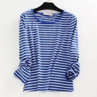 Women S Plus Size Oversized 3XL 4XL 5XL 6XL Cotton Striped T Shirts T Shirt Women