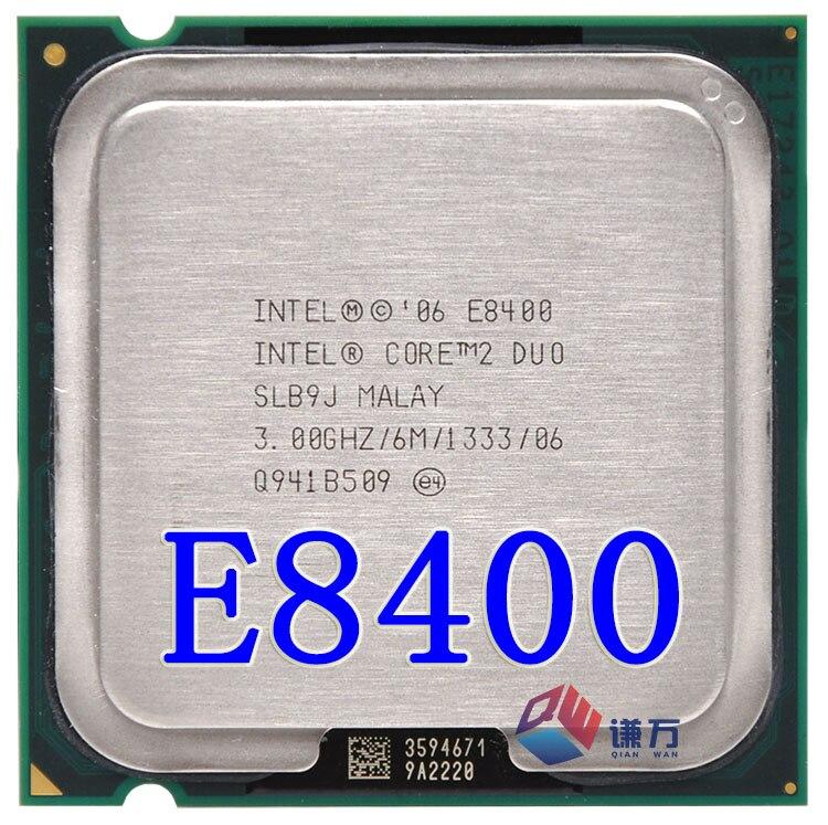 Core 2 Duo E8400 SLB9J CPU de 3.0 GHz 6 MB 1333 MHz Procesador de Escritorio Intel segunda mano  Se entrega en toda España