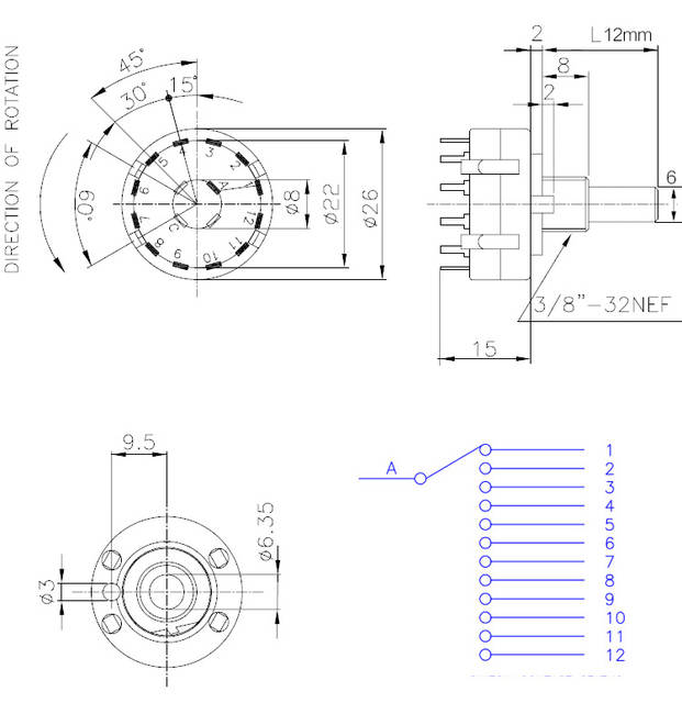 Wiring A Rotary Selector Switch - Wiring Diagram Content on