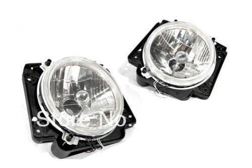 Прозрачные линзы Ангел глаз головного света для VW Гольф MK2