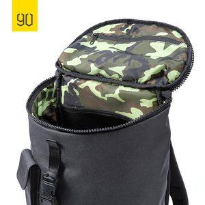Image 4 - Nineygo 90FUN Fashion Chic plecak wodoodporny Bagpack mężczyźni kobiety tornister zakupy plecak na co dzień torba na laptopa duża pojemność