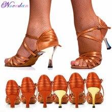 f59bddf5 Zapatos de baile de Tango/salón/baile latino zapatos de baile de tacón alto  Salsa zapatos de baile profesional para niñas 5 cm/6.