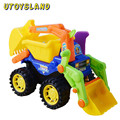 UTOYSLAND Kids Children Simulation Engineering Vehicles Excavator Inertia Car Boys Toy Real Dump Truck