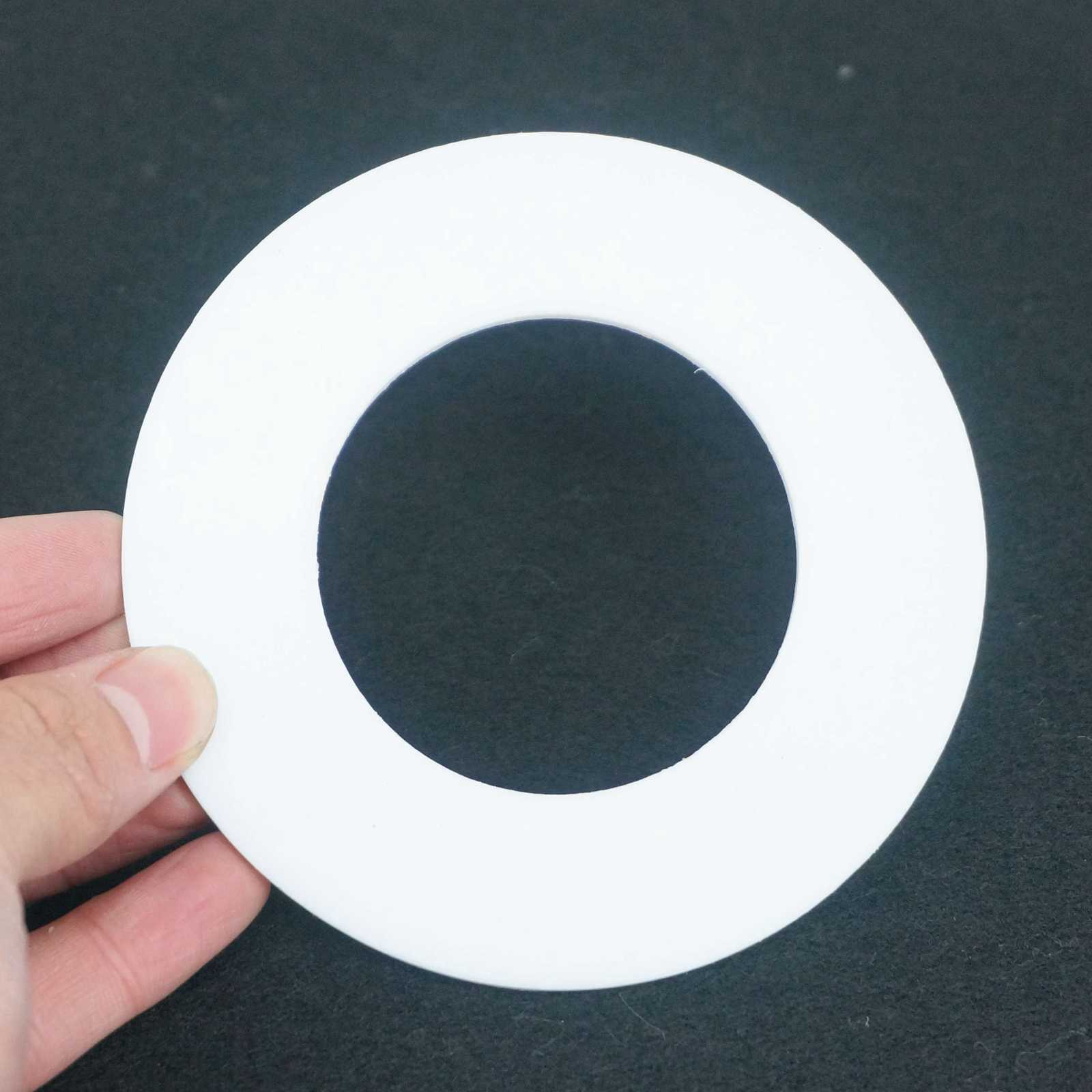 """2pcs Fit 1//2/"""" To 8/"""" PTFE Sealing Washer Flat GaskeT for Weld On Slip On Flange"""