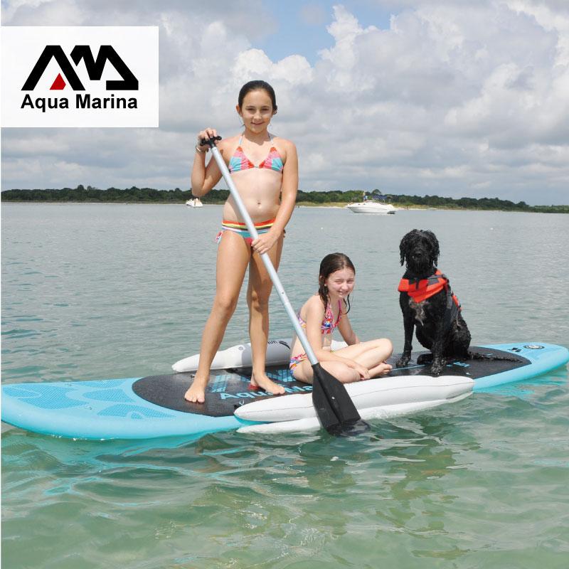 Stabilisateur gonflable stand up paddle board sup planche de surf accessoire nouveau joueur enfant planche ailes ISUP entraînement roue set B03022 - 2