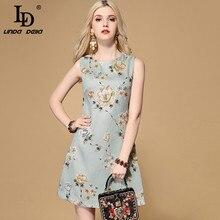 винтажное платье рукавов LINDA