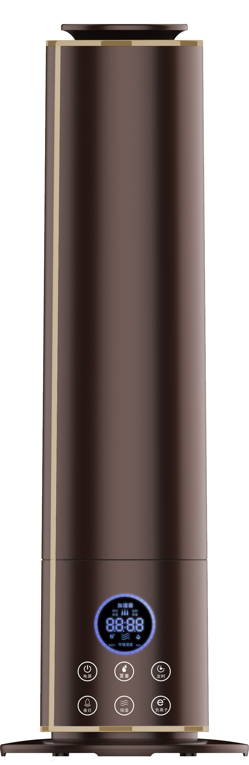 9l большой Ёмкость пол увлажнитель LED Touch Управление аромат диффузор отрицательные ионы очистки воздуха ароматерапия тумана