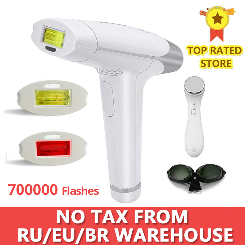 Lescolton Bikini Trimmer Laser Epilator Laser-Hair-Removal-Machine IPL Permanent Electric