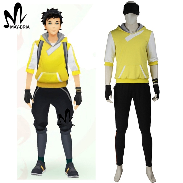 Halloween costumes for adult men game Pokemon GO Cosplay Costume ...