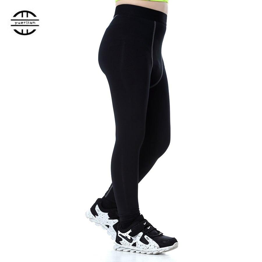 Yuerlian Gym Leggings Sports Tight Fitness Kids Football Kits 2016/17 Sportswear Basketball Jersey Running Pants Boys And Girls