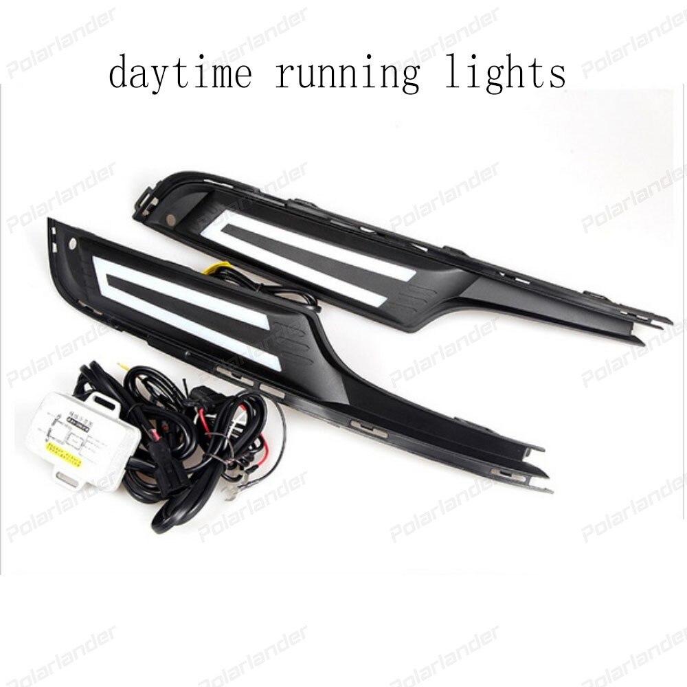 Turning Signal Light auto part Daytime Running Lights For V/olkswagen Golf 7 2014 2015  LED DRL