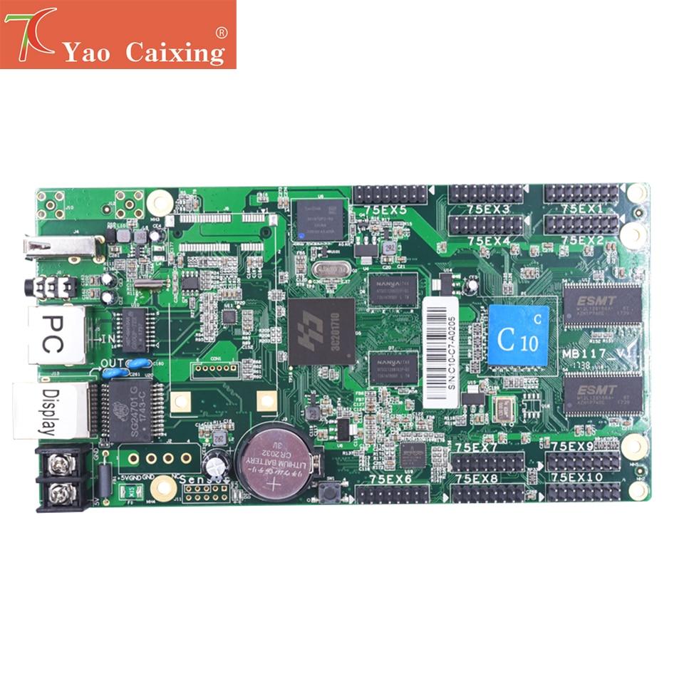 Free Shipping 1024x120pixels HD-C15/C15C Wifi Control Card P2 P2.5 P3 P4 P5 P6 P8 P10 Rgb Full Color Led Screen