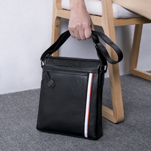 купить BAQI Brand Men Handbags Men Shoulder Bags Genuine Leather Cow Leather High Quality Men Messenger Bag 2019 Fashion Business Bag по цене 2507.55 рублей