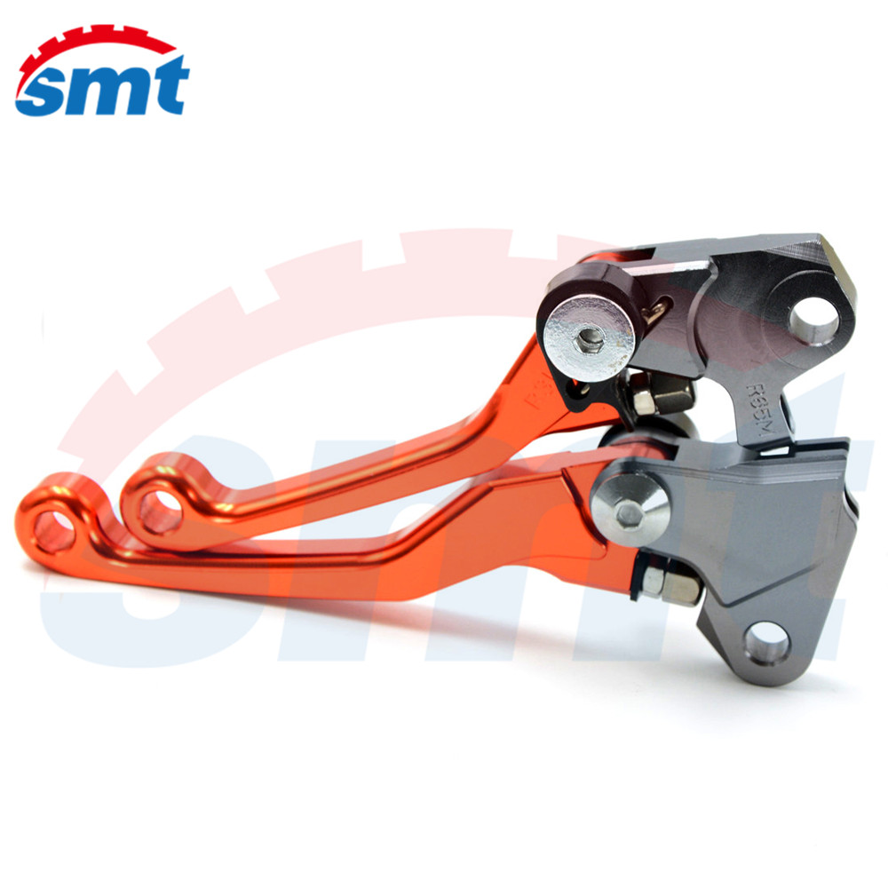 New Listing Motocross CNC Pivot Brake Clutch Levers orange color For KAWASAKI NINJA 250   2008 2009 2010 2011 2012 motorcycle pivot brake clutch levers cnc golden brake clutch lever for kawasaki klx 150 s 2009 2010 2011 2012