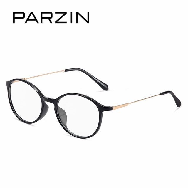 824429b16e PARZIN Fashion Oval Optical Frames For Women High Quality Anti Blue Clear  Lens Customizable Myopia Glasses Frames Accessories
