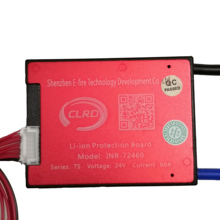 7S 24V 15A 25A 35A 45A BMS Battery Management System PCM PCB for 18650 Lithium Ion Battery Pack With Balance