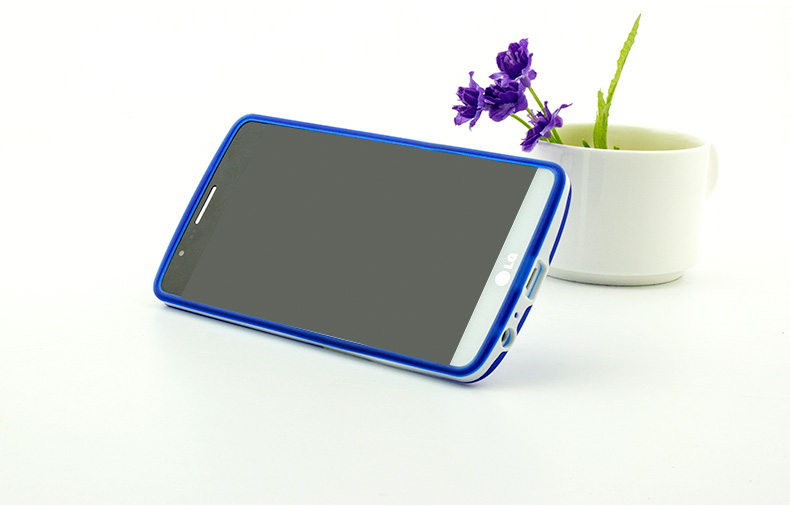 Ultra-thin PC Frame TPU Soft Cover Silicon Case for LG G4 Matte Feel - Բջջային հեռախոսի պարագաներ և պահեստամասեր - Լուսանկար 2