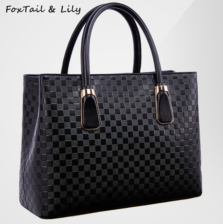 FoxTail & Lily Composite Leather Women Bag 2017 Famous Designer Handbags High Quality Ladies Fashion Shoulder Crossbody Bags