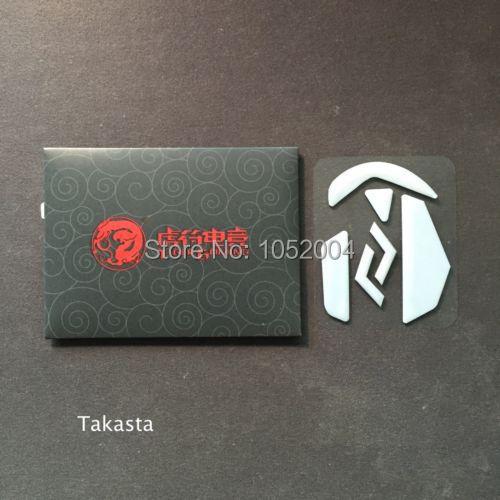 1 Satz/paket 1,0mm Tiger Gaming Dicke Ptfe (weiß) Edition Maus Skates Für Logitech G502 Maus Füße
