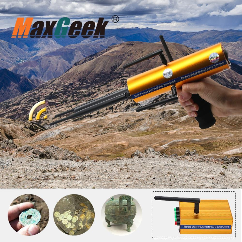 AKS Long Range Gold Metal Detector Gems Diamond Finder high sensitivity and stability with Six Antennas Handheld TypeAKS Long Range Gold Metal Detector Gems Diamond Finder high sensitivity and stability with Six Antennas Handheld Type