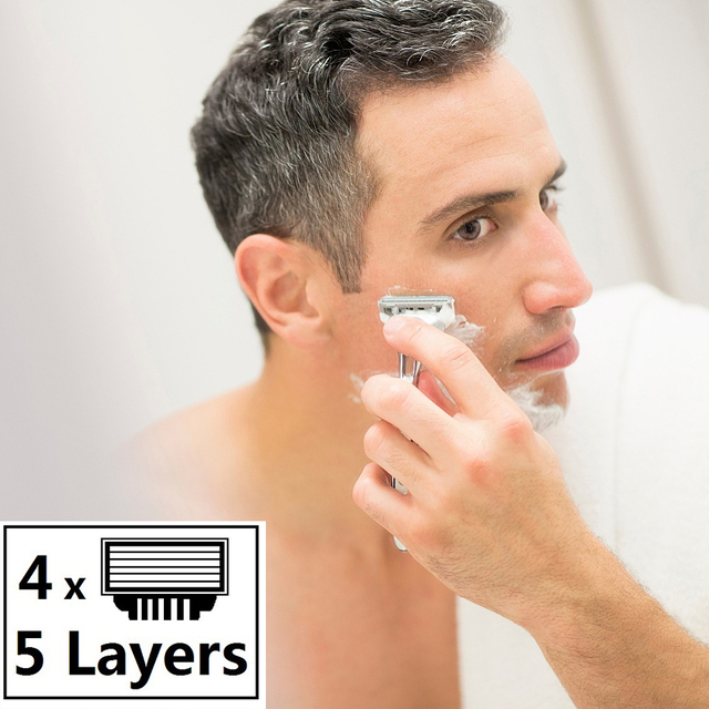 shaving Men facial